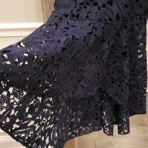 "Shoshanna Dresses - Shoshanna ""Regina"" Lace High/Low Gown"